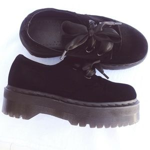 Dr. Martens Holly Chunky Double Sole Platform BLK